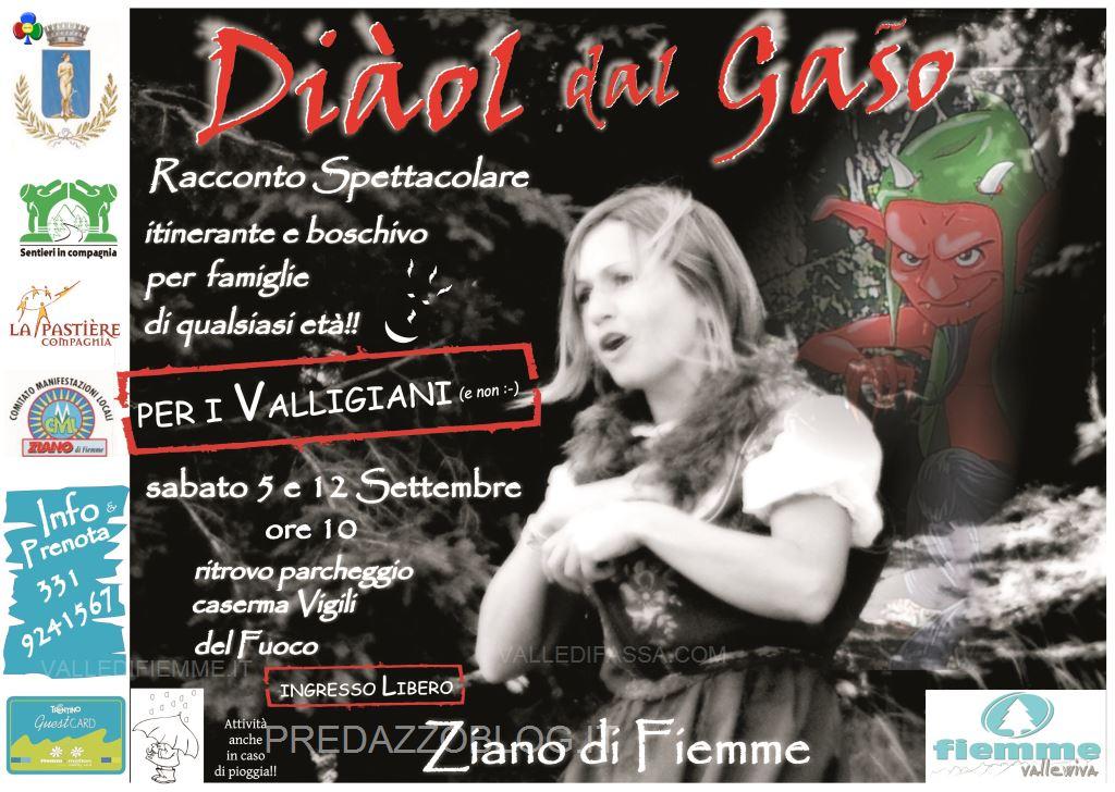 spettacoli la pastiere fiemme predazzo arici alessandro7 Settembre di spettacoli con Arici per Valligiani e non