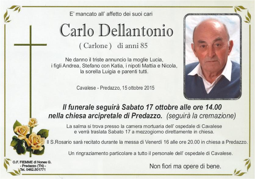 Dellantonio Carlo
