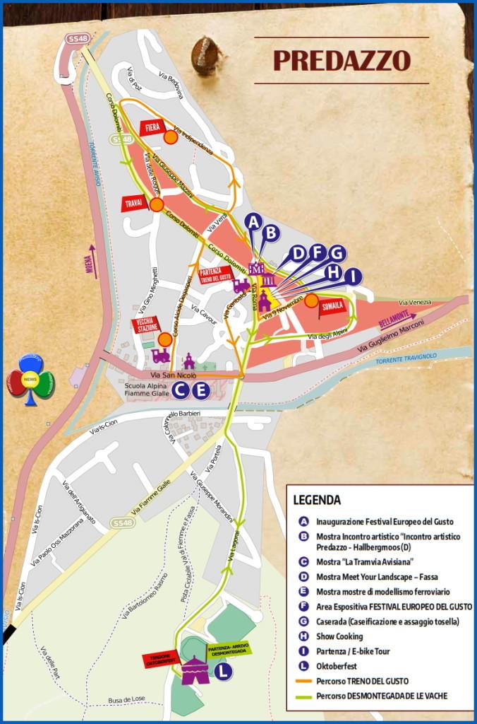 desmontegada predazzo percorso 2015 676x1024 Desmontegada 2015 e Festival del Gusto a Predazzo