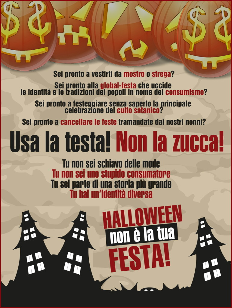 halloween 771x1024 Vade retro Halloween! Ex satanista mette in guardia   Video
