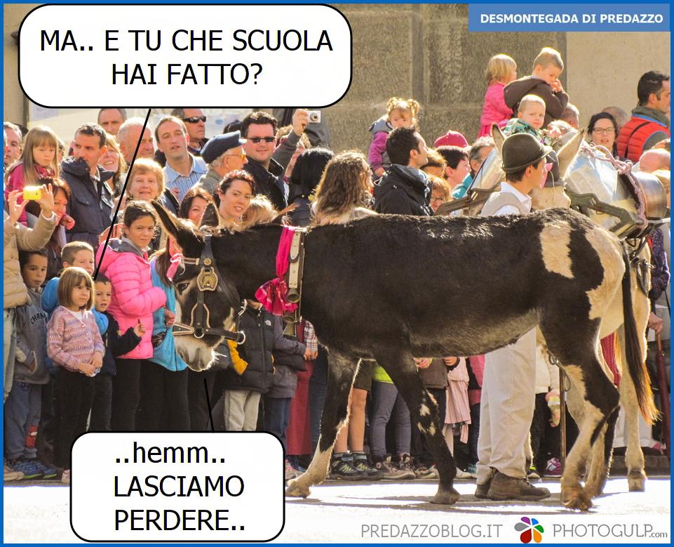 vignetta scuola desmontegada predazzo Desmontegada 2015 di Predazzo   Le Foto