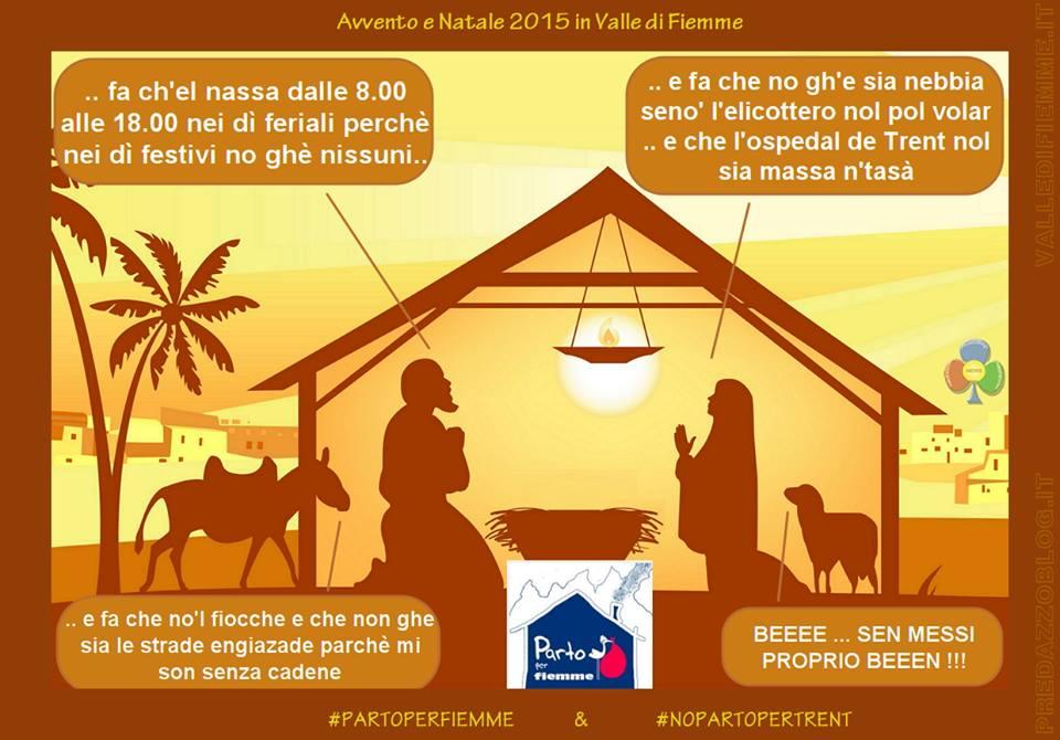 avvento e natale 2015 in valle di fiemme Fiemme Fassa e Cembra scrivono al Presidente della Provincia Ugo Rossi