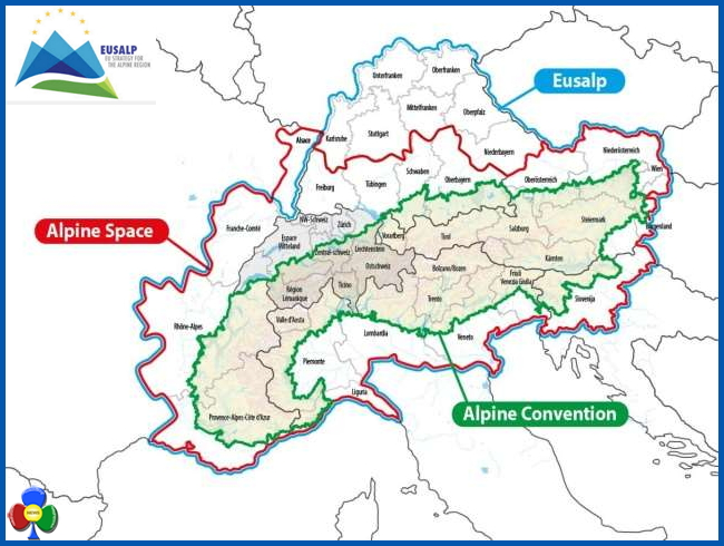 eusalp alpi Eusalp, parte la strategia per la regione alpina