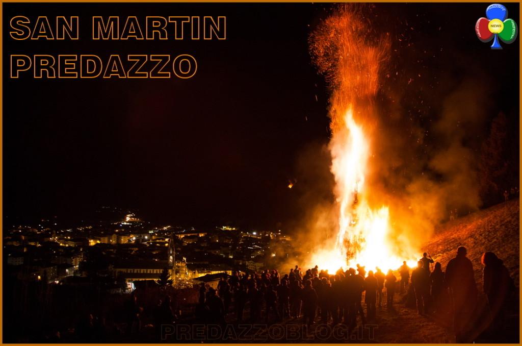 san martino predazzo 2015 1024x678 Fuochi di San Martin 11 novembre 2017 a Predazzo