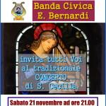 santa cecilia predazzo 150x150 Concerto di S. Cecilia della Banda Civica di Predazzo
