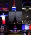 solidarietà alla francia nel mondo