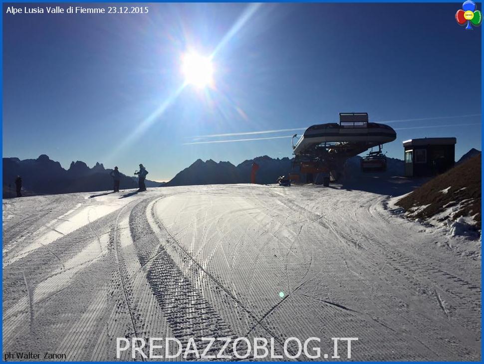alpe lusia piste sci natale 2015 Niente neve, ma si scia benissimo sulle Dolomiti