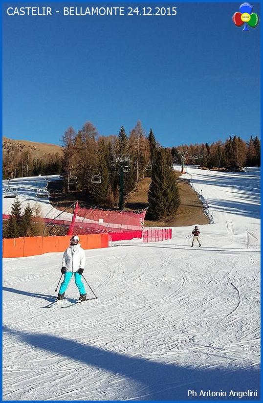 castelir bellamonte piste Niente neve, ma si scia benissimo sulle Dolomiti