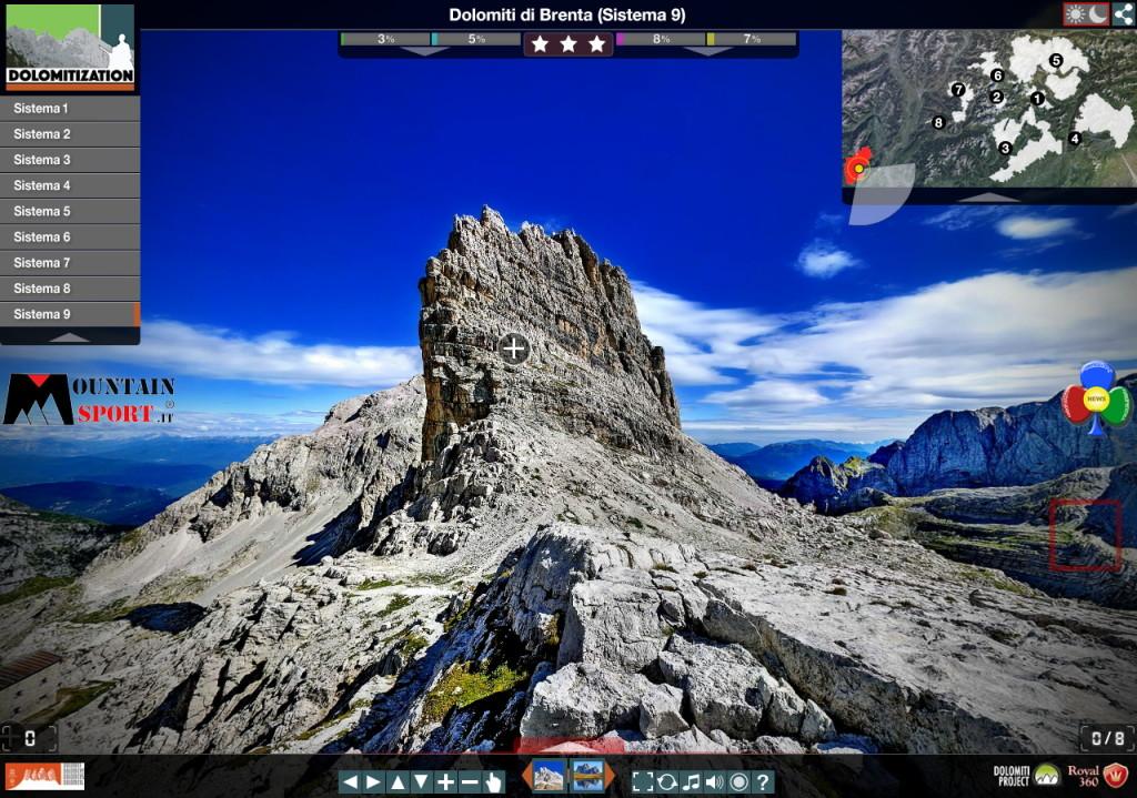 dolomiti di brenta 1024x719 Dolomitization scoprire le Dolomiti Unesco interattive