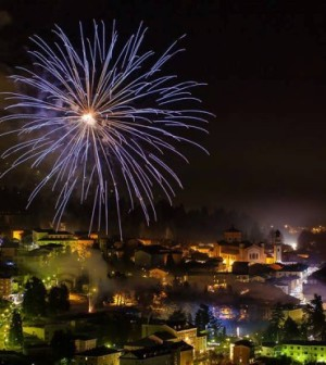 fuochi artificio trentino