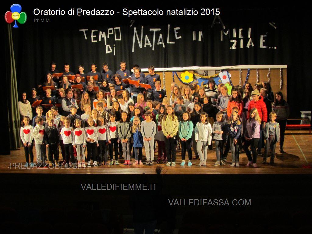 oratorio predazzo spettacolo 2015 natale65 Avvisi Parrocchie 17 25 dicembre Orari Messe Natale