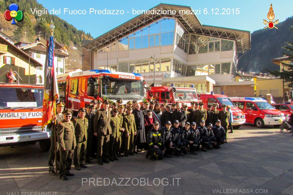 santa barbara 2015 a predazzo benedizione mezzi vigili del fuoco volontari63 Predazzo, bando per nuovi Vigili del Fuoco Volontari