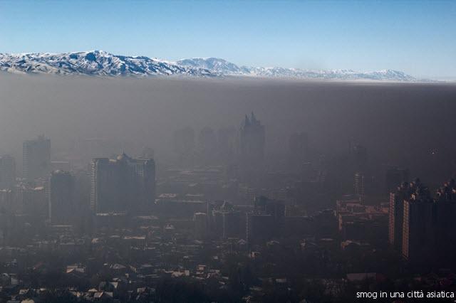 smog Questa è una Civiltà inquinata di egoismo