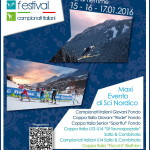 Ski Nordic Festival Fiemme 2016 150x150 Campionati Italiani fondo, biathlon, salto e combinata. Classifiche