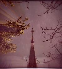 croce del campanile di predazzo