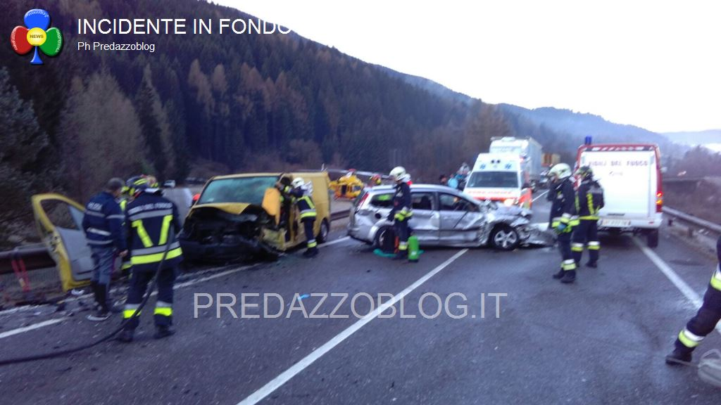 incidente fondovalle panchià 12.1.2016 predazzoblog11 Pauroso incidente in fondovalle, 2 uomini feriti