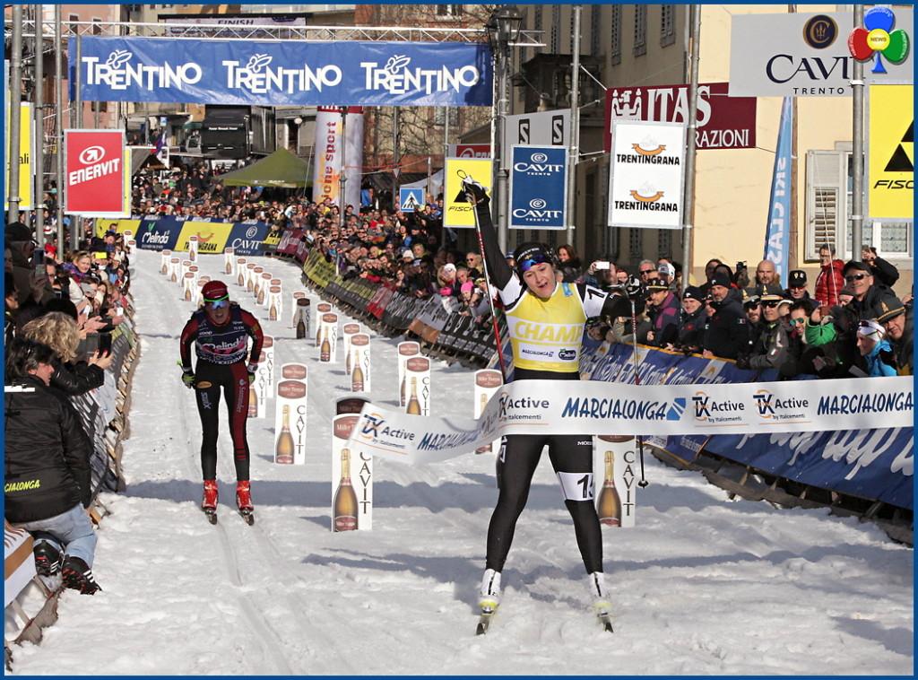 marcialonga 2016 arrivo donne 1024x758 43° Marcialonga a Tord Gjerdalen e Britta Norgren   Classifiche 2016