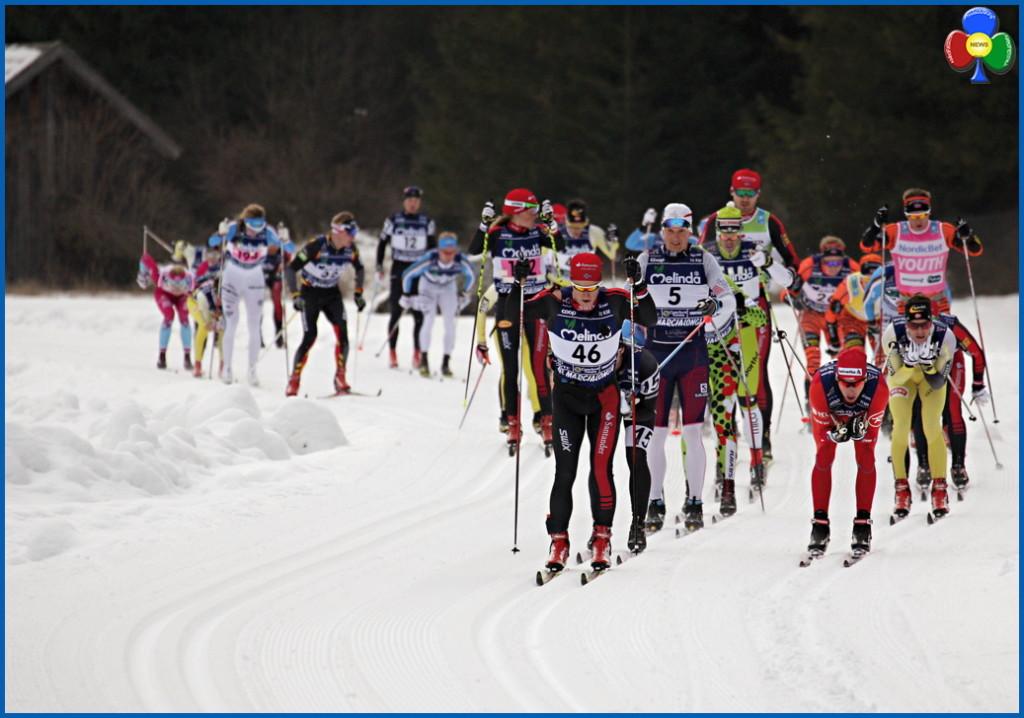 marcialonga 2016 testa della gara 1024x718 43° Marcialonga a Tord Gjerdalen e Britta Norgren   Classifiche 2016