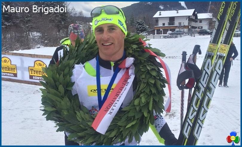 mauro brigadoi predazzo Vittoria di Mauro Brigadoi alla Pustertaler Skimarathon