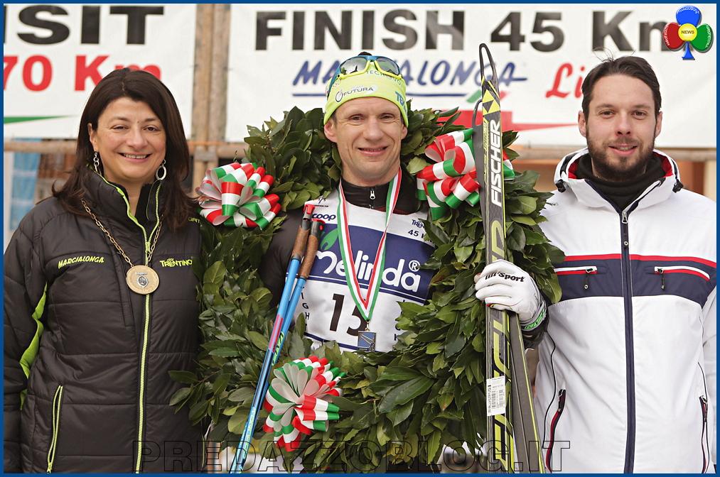 vincitore marcialonga light 43° Marcialonga a Tord Gjerdalen e Britta Norgren   Classifiche 2016