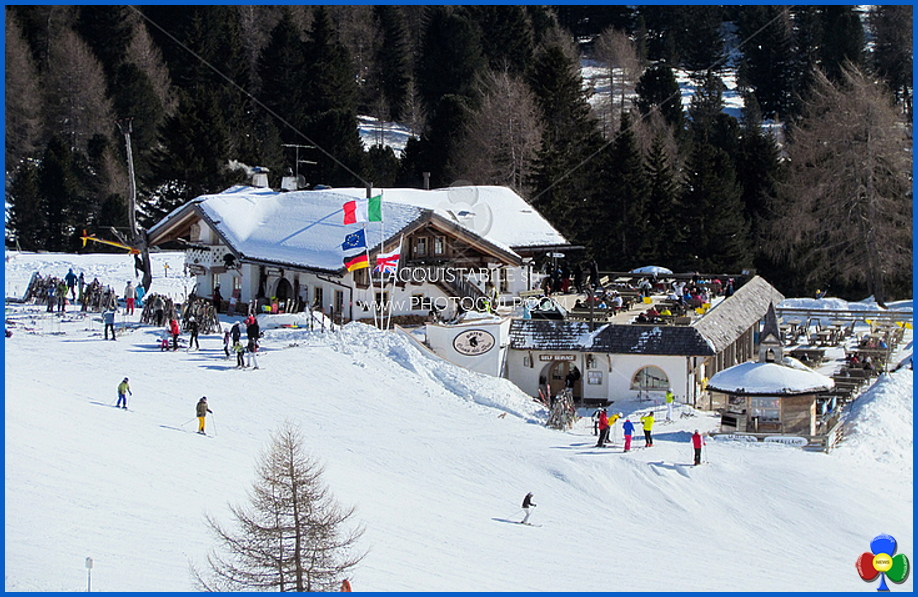 ciamp de le strie lusia Coppa del Mondo di snowboard per disabili in Val di Fiemme