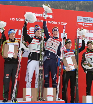 coppa del mondo combinata nordica 2016 fiemme podio