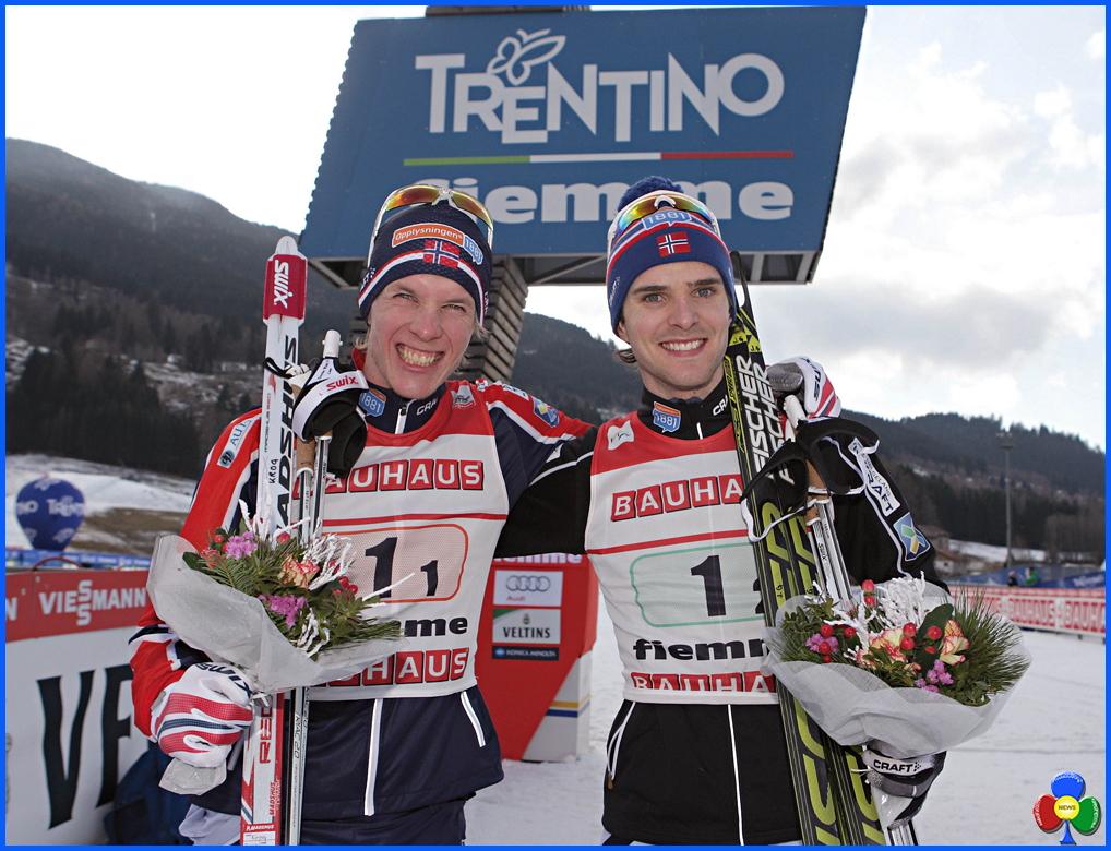 coppa del mondo combinata nordica 2016 fiemme La Norvegia trionfa ancora in Val di Fiemme