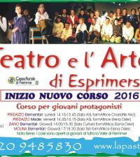 corso teatro predazzo ziano 2016