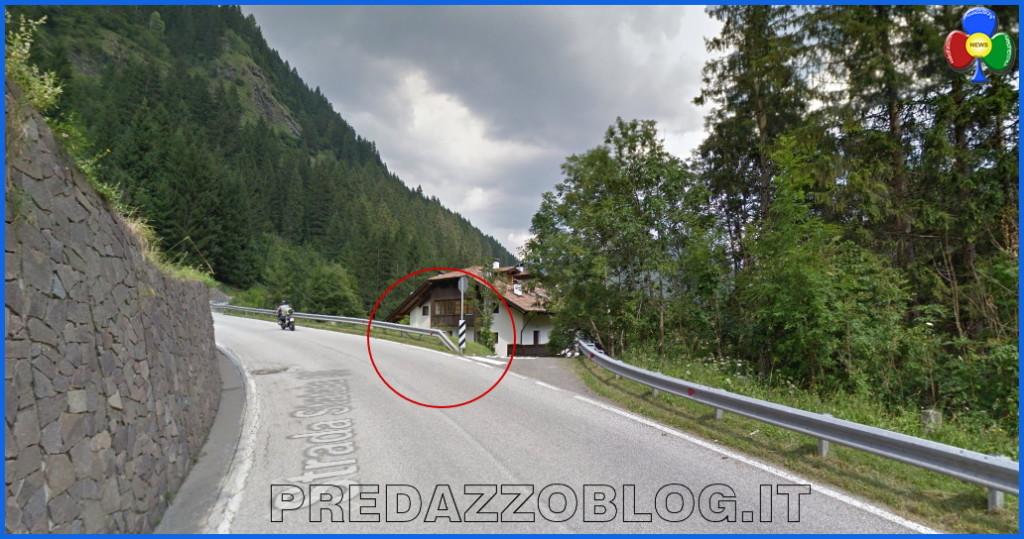 incidente villa vandina zaluna predazzo 1024x539 Grave incidente nella notte sulla strada per Bellamonte