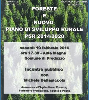 serata settore foreste 2016