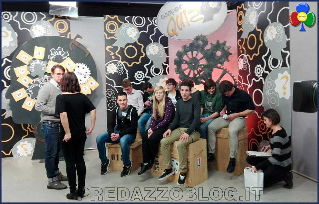 Cooperquiz 2016 predazzo 1024x657 Gli studenti de La Rosa Bianca di Predazzo a Cooperquiz 2016