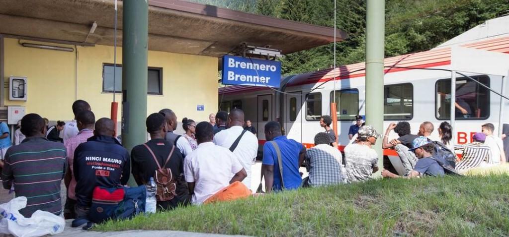 """Migranti Brennero 1024x478 La """"rotta balcanica"""" ha chiuso ai profughi"""