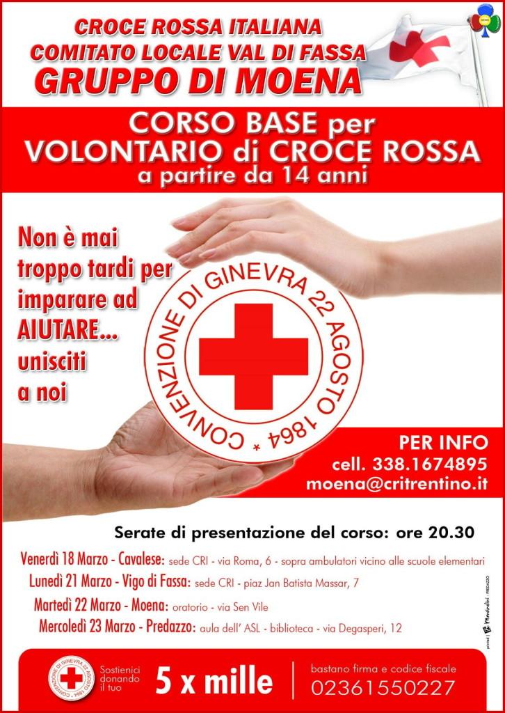 croce rossa moena corsi 2016 726x1024 Corsi per Volontari Croce Rossa in Fiemme e Fassa