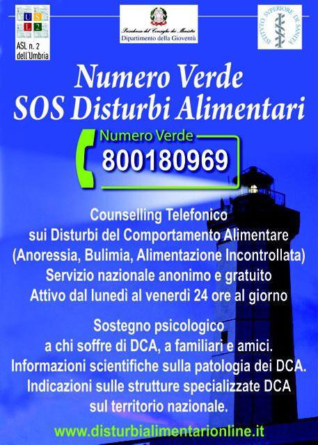 disturbi alimentari numero verde 15 marzo 2016, una fontana lilla a Predazzo e Cavalese