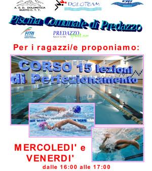 dolomitica nuoto corso-ragazzi-perfezionamento-corretto