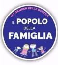 popolo della famiglia logo no gender nelle scuole