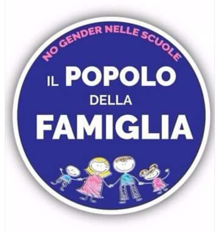 popolo della famiglia logo no gender nelle scuole Nasce Il Popolo della Famiglia, nuovo soggetto politico
