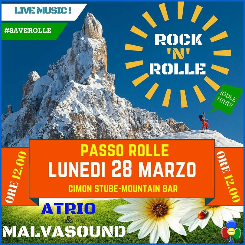 save rolle concerto rock Olimpirladi 2016 e Rock n Rolle a Pasquetta