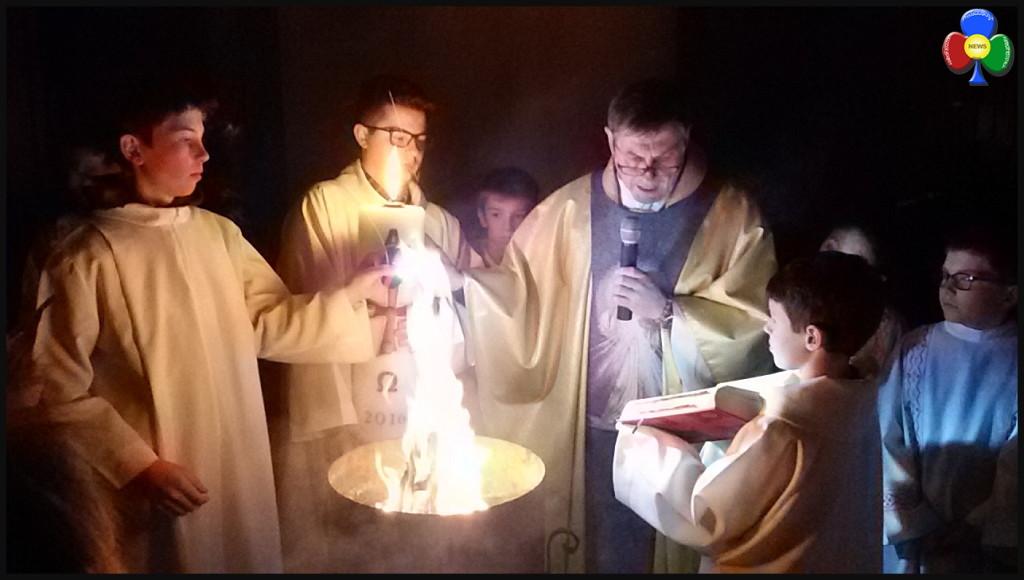 veglia pasquale predazzo 1024x580 Avvisi della Parrocchia 27.3/3.4 e bollettino parrocchiale