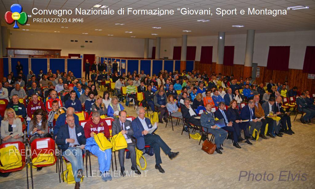 """Convegno Nazionale di Formazione Giovani Sport e Montagna predazzo3 Convegno Nazionale di Formazione """"Giovani, Sport e Montagna"""""""