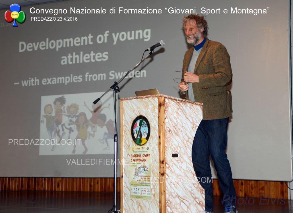"""Convegno Nazionale di Formazione Giovani Sport e Montagna predazzo4 Convegno Nazionale di Formazione """"Giovani, Sport e Montagna"""""""