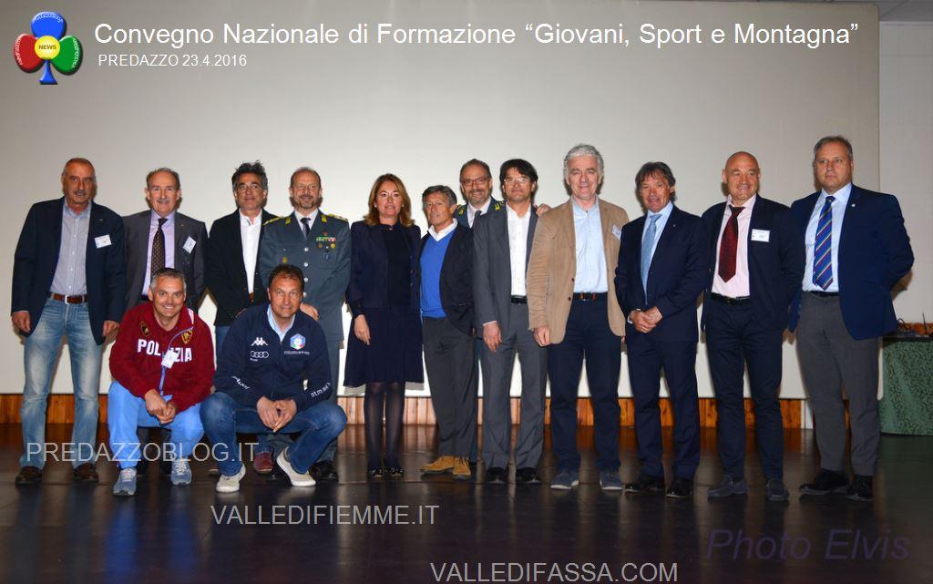 """Convegno Nazionale di Formazione Giovani Sport e Montagna predazzo5 Convegno Nazionale di Formazione """"Giovani, Sport e Montagna"""""""