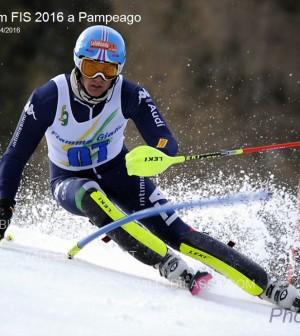 Slalom FIS 2016  Pampeago1
