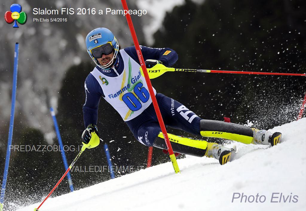 Slalom FIS 2016 Pampeago4 Slalom FIS a Pampeago: Federico Liberatore su Tonetti e Sala