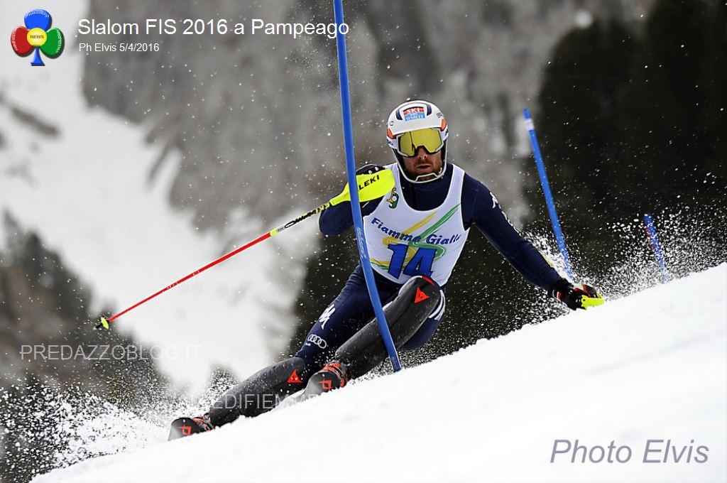 Slalom FIS 2016 Pampeago5 Slalom FIS a Pampeago: Federico Liberatore su Tonetti e Sala