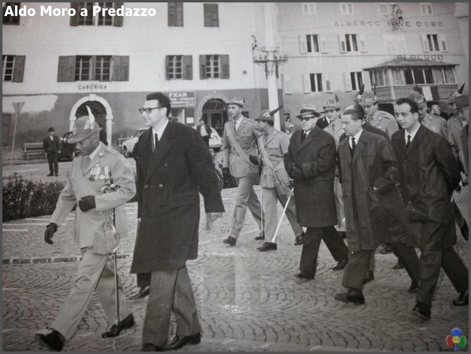 aldo moro a predazzo 1 Sarà dedicata ad Aldo Moro la Sala Convegni di Bellamonte