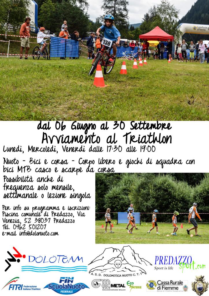 avviamento al triathlon dolomitica predazzo 723x1024 Dolomitica, avviamento al Triathlon e Partite
