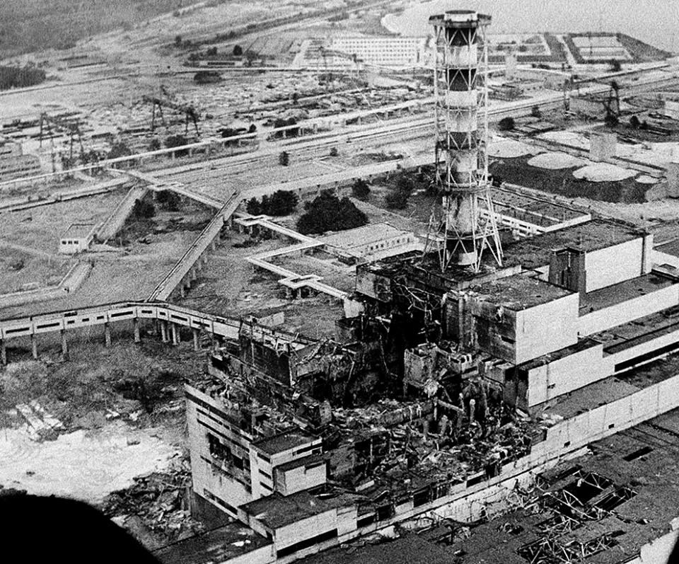 chernobil 30 anni fa il disastro di Chernobyl