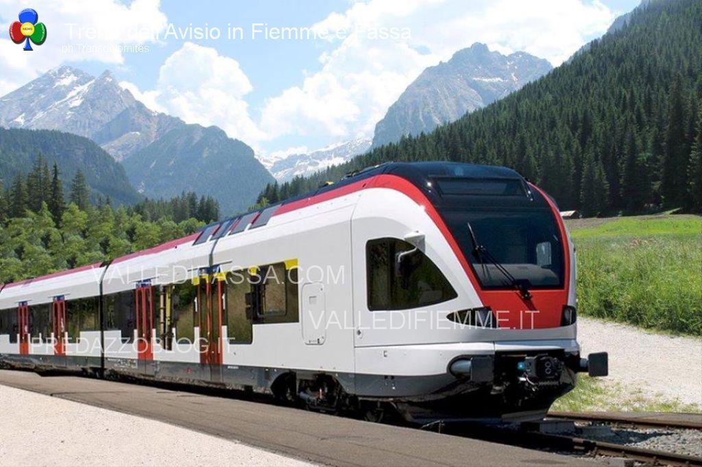 ferrovia avisio trenino fiemme fassa transdolomites1 Ferrovia e Mondiali della Val di Fiemme 2025 o 2027