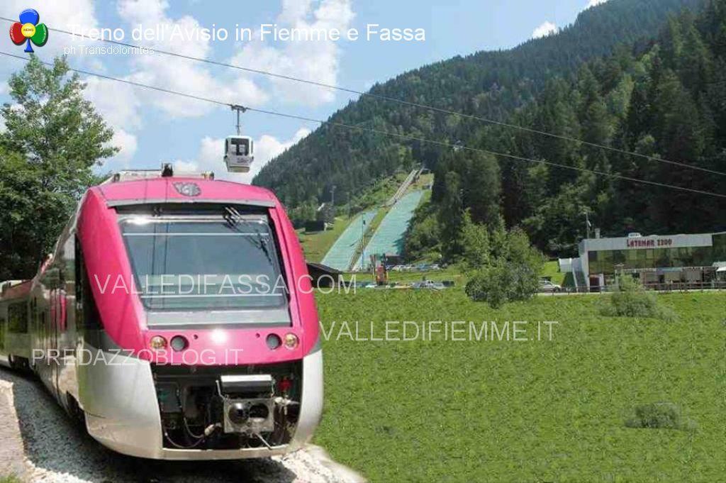 ferrovia avisio trenino fiemme fassa transdolomites5 Ferrovia e Mondiali della Val di Fiemme 2025 o 2027